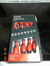 parkside 8 piece screwdriver set made from high quality steel item is new