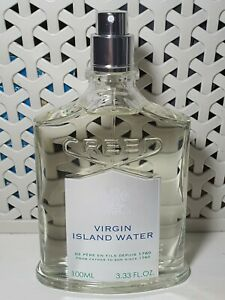 100% authentic creed Virgin Island water 100ml