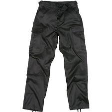 Pantalon BDU Poly coton armée militaire airsoft outdoor sécurité police noir