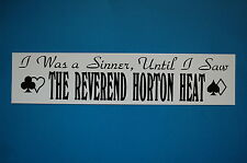 Reverend Horton Heat Sticker Decal (S120) Mad Sin Rock A Billy Nekromantix Car