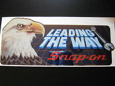 Snap-on Snap on Tools Tool Box Eagle Vintage Sticker Racing Decal Garage Rod