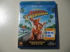 Beverly Hills Chihuahua (Blu-ray/DVD, 2011, 2-Disc Set) Brand New and Sealed
