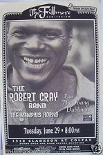 ROBERT CRAY & THE MEMPHIS HORNS/ YOUNG DUBLINERS 1999 DENVER CONCERT TOUR POSTER