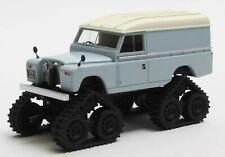 Matrix 1/43 1958 Land Rover Séries 2 II Cuthbertson Chat Piste Conversion Gris