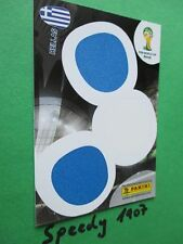 FIFA World Cup Brasil  2014 Supporter Card Greece  Fan WM 14 Panini Hellas