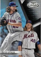 Jacob deGrom 2018 Topps Gold Label Class 1 Black Parallel Mets #63
