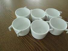 Play pen hook cup for bird, plastic similar to Planit # 455 set of 6 white