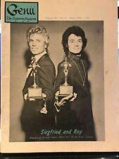 Genii The International Conjurors' Magazine April 1972 Siegfried and Roy