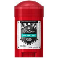 Old Spice Sweat Defense Anti-Perspirant - Deodorant, Pure Sport Plus 2.60 oz 3pk