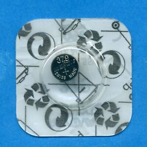 379 SR521SW V379 1.55V Silver Oxide Watch Cell Battery Rayovac TO CLEAR AUG 21