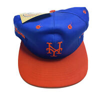 Vintage NY New York Mets Competitor Snapback Hat Cap Genuine MLB DEADSTOCK E2