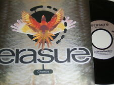 "7"" - Erasure - Chorus & Over the Rainbow - 1991 MINT # 5309"