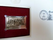 US #3567 U/A GOLDEN REPLICA FDC Connecticut Greetings from America