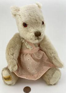 "Vintage ""MerryThought Iron Bridge Shrops 10"" Teddy Bear made in England 🧸👀"