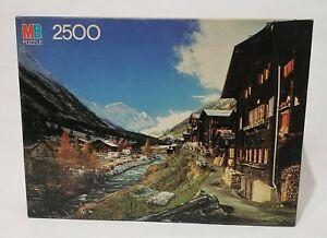 VTG Alpine Village 1983 Milton Bradley Puzzle 2500 Pcs NEW-SEALED