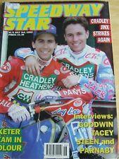 SPEEDWAY STAR MAGAZINE JUL 1993 CRADLEY STRIKES AGAIN GOODWIN TACEY STEEN PARNAB