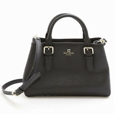 NWT Kate Spade Cove Street Provence Black Leather Satchel MSRP $428