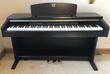 More details for yamaha clavinova clp-120 digital piano full size 88 keys 3 pedals - rosewood
