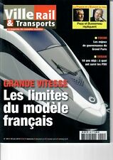 Ville Rail & Transports n°499 - PDUs, Grand Paris, TGV, etc. (30/06/2010)