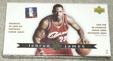 LEBRON JAMES 2003-04Upper Deck NEW Sealed Box 32 Rookie Card Set...MVP AUTO?