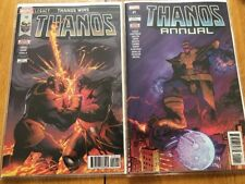 Thanos #18 & THANOS ANNUAL #1 ALL FIRST PRINTS Cosmic Ghost Rider Marvel Comics.