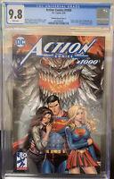 Action Comics 1000 Unknown Comics Kirkham variant A CGC 9.8, DC Comics