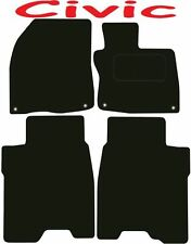 Honda Civic 3&5dr Tailored car mats ** Deluxe Quality ** 2012 2011 2010 2009 200