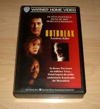 VHS Film - Outbreak - Lautlose Killer - Dustin Hoffman - Videokassette