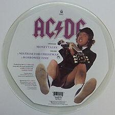 AC/DC, Money Talks, NEW/MINT SHAPED PICTURE DISC 12 inch vinyl single