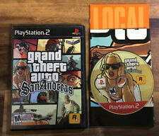 Grand Theft Auto GTA San Andreas Sony PS2 w/Manual Acceptable Cond