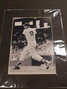 Ted Williams  11x14 red sox Photo