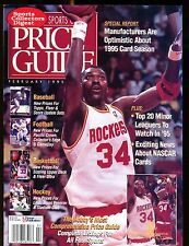SCD Sports Card Price Guide February 1995 Hakeem Olajuwon jhscd