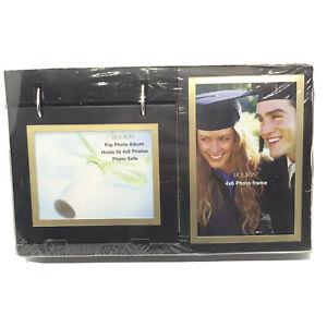 "Holson Flip Photo Album & Photo Safe Holds Fifty 4x6"" Photos New & Sealed"