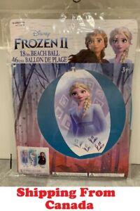Disney Frozen 2 II Inflatable Pool Water Beach Ball Swim Float Elsa Anna Olaf