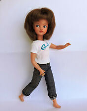 VINTAGE RED HAIR SINDY PEDIGREE MINI SINDY DOLL 1965 AND CLOTHES