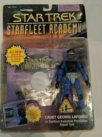 Playmates Star Trek Starfleet Academy Cadet Geordi Laforge Figure Software 1996