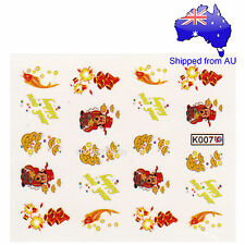 Chinese Happy New Year Nail Art Water Transfer Decal
