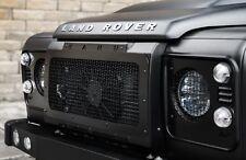 Land Rover Defender Militaire 2000-14 Pare Choc Avant Calandre + maille acier inox