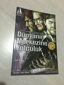 JOURNEY TO THE CENTRE OF THE EARTH  classics illustrated TURKISH  TURKEY COMIC