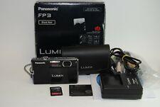 Panasonic LUMIX DMC-FP3 14.1MP Digital Camera - Black