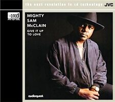 XRCD JVCXR 0012-2: MIGHTY SAM McCLAIN - Give It Up To Love - 2008 JAPAN OOP SS