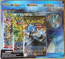 Pokemon Legendary Birds 3 Pack Blister with ARTICUNO Collectors Pin