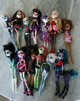 Monster High Doll with Accessories Lot - 13 Dolls total