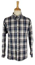 Q460 Jeep Mens Thick Cotton Check Tartan Shirt, XL
