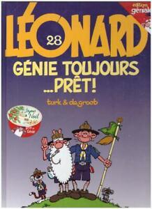 BD LÉONARD Tome 28 GENIE TOUJOURS PRÊT ! - DE GROOT / TURK - DARGAUD E-O 05/1999