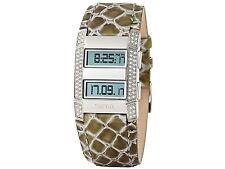 Esprit Damenuhr Armbanduhr Viva Centauri White Khaki Uhr  UVP 100 €€ ES101242705