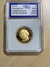 2007 S $1 George Washington Dollar IGS PR70DCAM