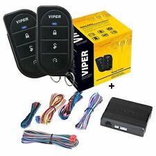 Viper 5105V 1 Way Car Alarm Remote Start Security System Keyless New