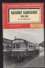 RAILWAY CARRIAGES 1839 - 1939 - G. M. KICHENSIDE train rail history  dn