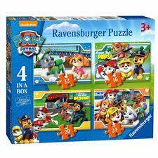 Puzzle Box | 4 en 1 | Paw Patrol | Patrulla Canina | rompecabezas de niños